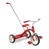 Sepeda Anak Radio Flyer Classic Red Tricycle With Push Handle