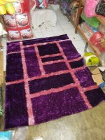 karpet shaggy / bulu halus import / permadani uk 200x1