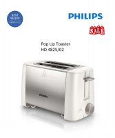 Toaster Philips HD 4825/HD4825