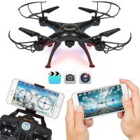 New X5SW-1 6-Axis UK Quadcopter Drone Real Time WIFI Camera 2MP FPV