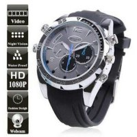 Spy Camera Watch Infrared 8GB/ Kamera Pengintai Jam Tangan Infrared
