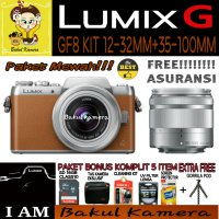 (Best Deals) PANASONIC LUMIX DMC GF8 DOUBLE KIT LENS