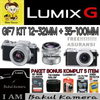 (Best Deals) PANASONIC LUMIX DMC-GF7 KIT 12-32MM & 35-100MM / LUMIX DMC GF7