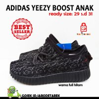 Adidas Yeezy Boost Kids - Full Hitam