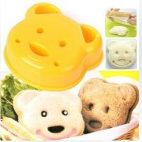 Bento Bear Bread Sandwich Mould