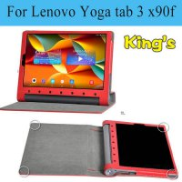 [globalbuy] For Lenovo YOGA Tab 3 PRO 10 inch X90F X90M X90L 10.1 Tablet Stand Case Shell /4931206