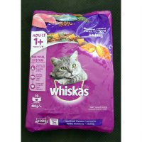 Makanan Kucing Whiskas Mackerel 480 gram (1 Years +)