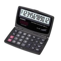 Casio Calculator Sx-220 - Kalkulator-Hitam