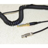 [globalbuy] Replacement Coiled Cable line cord For Pioneer HDJ2000 HDJ 2000 RHP20 RHP 20 H/1266541