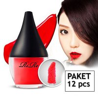 [RIRE] [12 Pcs] Korean Lipmanicure Long Lasting and Waterproof Liptint.
