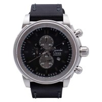 Alexandre Christie 6423 MCLBSV - Jam Tangan Pria - Leather Strap