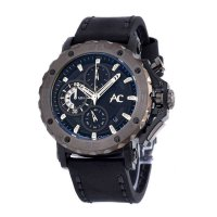 Alexandre Christie 9205 MCLFBLGY - Jam Tangan Pria - Leather Strap
