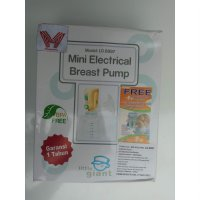 BREAST PUMP / MINI ELECTRICAL BREAST PUMP / MODEL LG.6897 / POMPA ASI