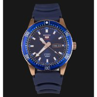 Seiko 5 Sports SRP738K1 Automatic Blue Dial Blue Rubber Strap