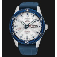 Seiko 5 Sports SRP781K1 Automatic White Dial Blue Rubber Strap