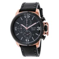 Alexandre Christie 6280 MCLBRG - Jam Tangan Pria - Leather Strap