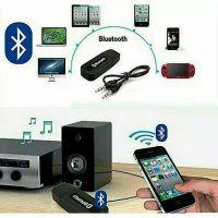 Usb Musik Bluetooth Audio receiver aux 3.5 mm wireless universal murah