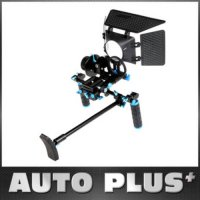[globalbuy] Quick Release Clamp DSLR Follow Focus FF with Adjustable Gear Ring Belt for 15/590786