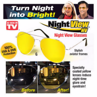 Night View Glasses / Kacamata malam anti silau SJ050