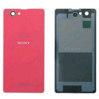 Sony Xperia Z1 Compact (D5503) 4.3 inch Back Cover Case/ Penutup belakang - Pink