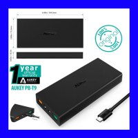 Original Aukey PB-T9 Powerbank 2 Port USB with Quick Charge 3.0 16000mAh