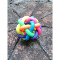 Pet Toy Bell Ball Dog Cat Colorful Anjing Kucing Kerincing Bunyi