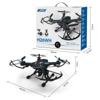 JJRC H26WH WIFI FPV 2 MP HD CAM ALTITUDE HOLD UPGRADE H26W