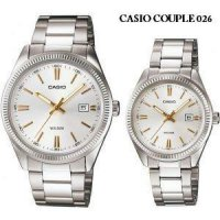 JAM TANGAN PASANGAN CASIO ORIGINAL CP026 Couple Watch