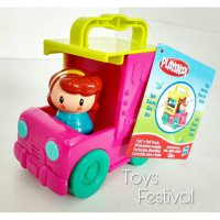 Ice cream truck playskool - figure mobil mobilan truk es cream (Ori)