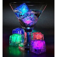 Lampu Es Batu Mini Ice Cube LED Coctail
