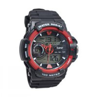 iGear D48H320iG641968MHTMM Water Proof Dualtime Sporty Jam Tangan Pria
