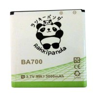 BATTERY BATERAI DOUBLE POWER DOUBLE IC RAKKIPANDA SONY BA700 XPERIA M/ NEO/ RAY 3000mAh
