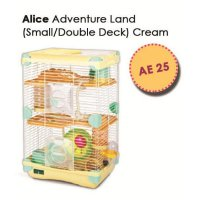Kandang Hamster / Adventure Land For Hamster Double Deck AE25