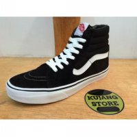 Sepatu Vans Sk8 Black White Women Original Premium Quality DT