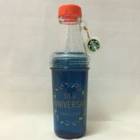 starbucks tumbler thailand anniversary 18th limited edition blue