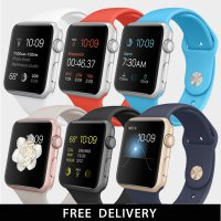 [APPLE WATCH SPORTS] 42mm SILVER ALUMINUM & 6COLORS SPORTS BAND