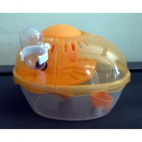 Kandang Hamster / Pet Doctor Egg Shape Cage Hamster House 002979