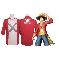 Kaos Distro Luffy Anime One Piece Keren