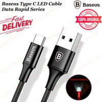 Baseus Type C LED Cable Data rapid Series FAST Charging