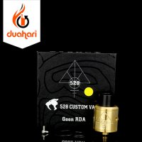 528 Custom Goon Styled RTA RDA Rebuildable Tank Atomizer 24mm - GOLD