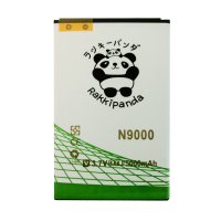 BATTERY BATERAI DOUBLE POWER DOUBLE IC RAKKIPANDA SAMSUNG N9000SC NOTE 3 SLIM 5000mAh