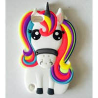 [globalbuy] 3D Cartoon Unicorn Soft Silicone case For Apple iPod touch 5 6 touch 5 touch 6/5416728