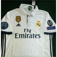 jersey real madrid uefa champion league full patch 16/17 grade ori