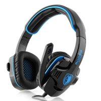 Sades SA-708 Gpower Gaming Headset - Biru