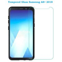 Tempered Glass for Samsung Galaxy A8 PLUS 2018 (Clear)