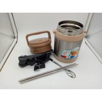 Vaccum Food Termos Lunch Box 700ML / Rantang Stainless