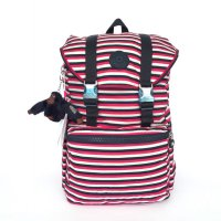TAS RANSEL BACKPACK KIPLING EXPERIENCE - RED STRIPE