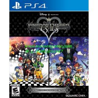 PS4 Kingdom Hearts HD 1.5 + 2.5 ReMIX (R3 / Reg 3 /English, PS 4 Game)