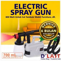 Electric Spray Gun 800Watt Cat Tembok/Mobil Painting Semprotan Simple