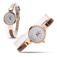 Fashion Women Lady Round Quartz Analog Bracelet Wristwatch Watch Gift